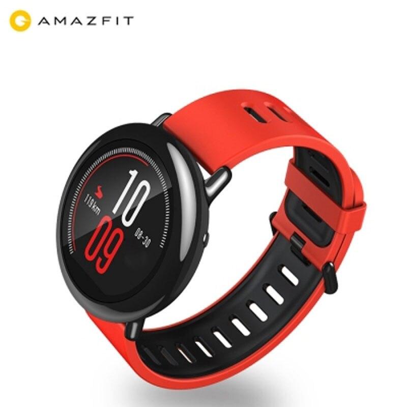 Xiaomi AMAZFIT Sport Astuto di GPS Della Vigilanza Frequenza Cardiaca in tempo Reale Monitor Pista Wristband Inglese Versione 512 mb 4 gb per Android IOS