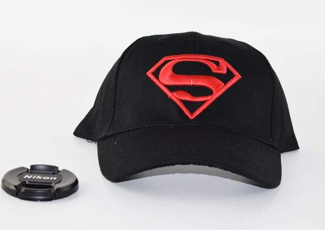 98add081b93 2017 Summer Children Hip Hop Baseball Cap Superman batman kids Sun Hat 18  colors Boys Girls