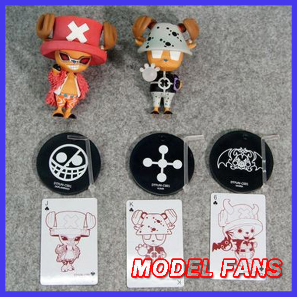 MODEL FANS IN-STOCK 2pcs/set 10cm one piece Chopper cos Kuma Doflamingo GK resin made for Collection model fans in stock the same paragraph tsume 50cm fist of the north star lao gk resin made for collection