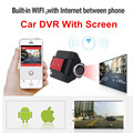 Newest Car DVR Recorder V80 Screen 1080P Mini Car DVR Dash Cam Video Registrator Car Recorder Auto Camera G-sensor Night Vision