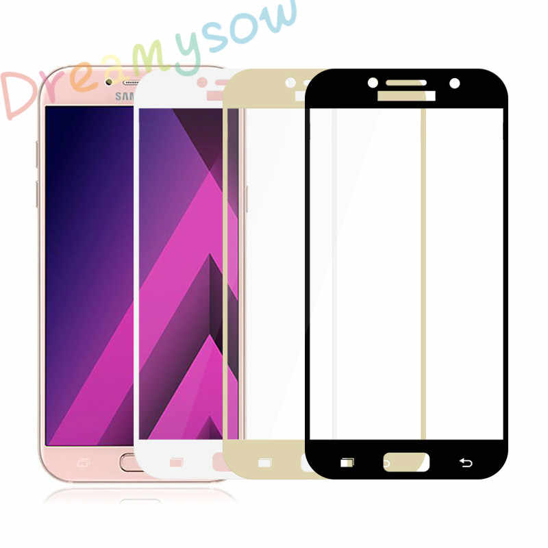 Dreamysow Protective Glass Tempered Glass For Samsung Galaxy J3 2017 J5 J7 2016 A5 A7 A3 2017 J5 Prime Full Cover film