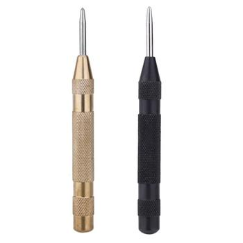 5 Inch Precision Screwdriver Tool Spring Hole Punch Hand Tool Loaded Marking Starting Automatic Center Pin Punch Set marking tools