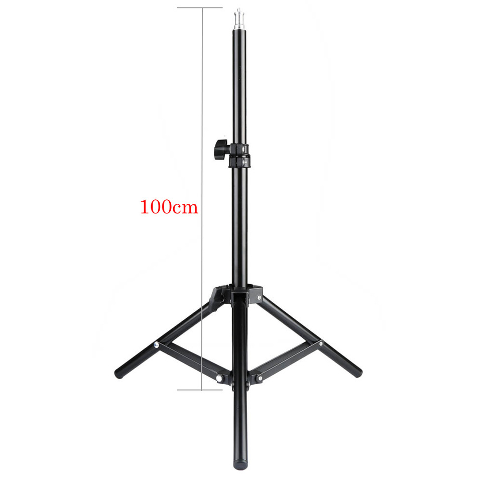 1m 100 Cm 1m 100cm Light Stand Tripod With 1/4 Screw Head Bearing Weight 3kg For Studio Softbox Flash Umbrellas Reflector Lighting|photo Studio Accessories| - Aliexpress
