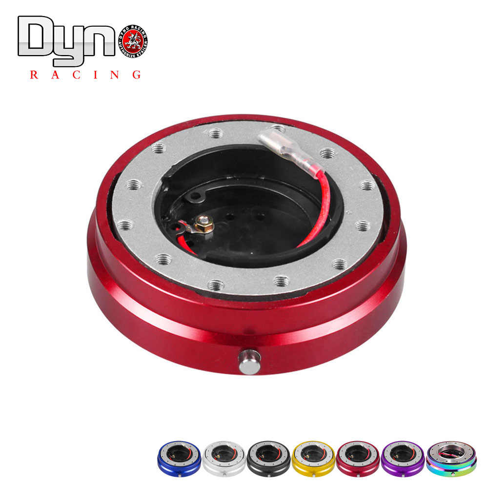 Red EPMAN Thin Version 6 Hole Steering Wheel Quick Release Hub Adapter Snap Off Boss kit