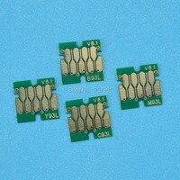 Für Epson t7521 T7521-T7524 Patrone einmal chip 4 farbe für Epson WorkForce WF-8091 WF-8591 drucker