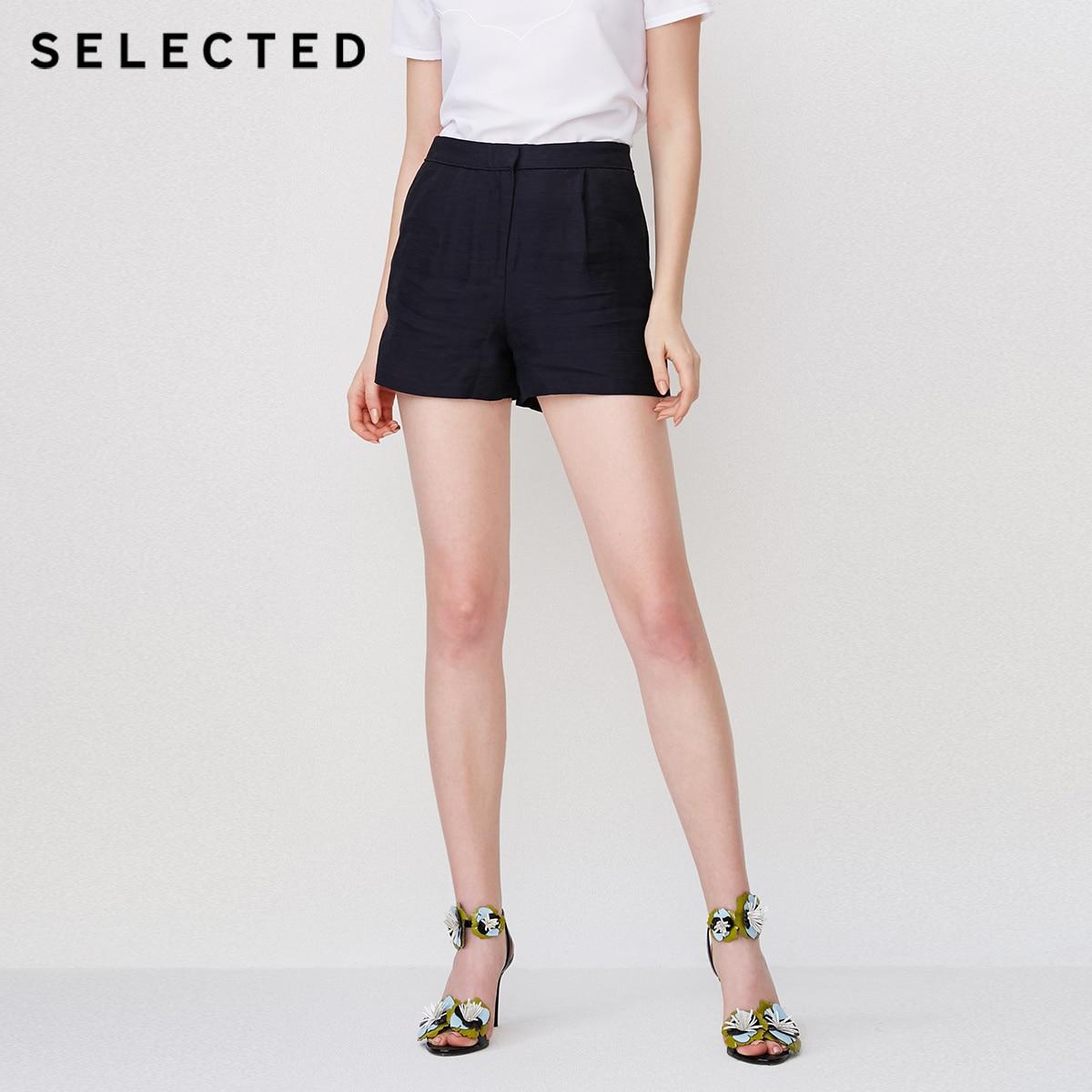 AUSGEWÄHLT frauen Reine Farbe Blending Shorts S  4182SH503-in Hosen & Caprihosen aus Damenbekleidung bei AliExpress - 11.11_Doppel-11Tag der Singles 1