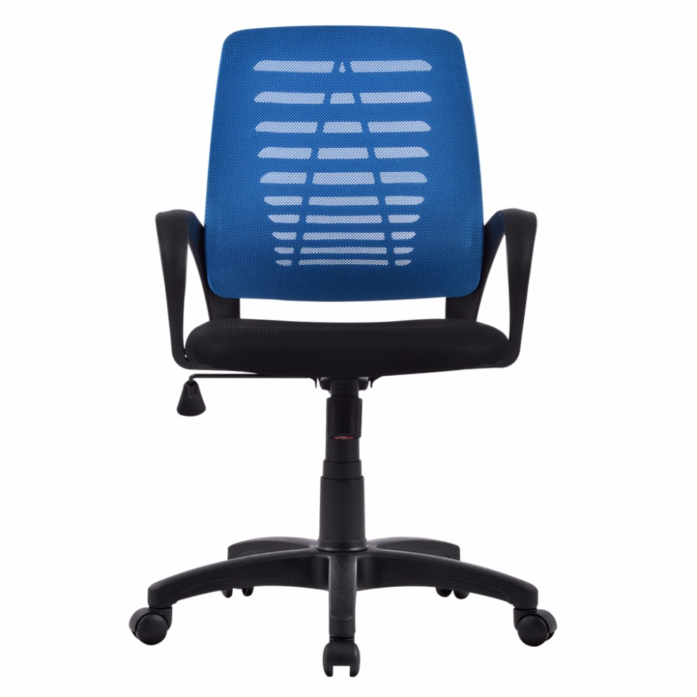 Armless computer chairs - Us Ergonomic Mid Back Mesh Swivel Computer Task Office Chair With Adjustable Height Executive Boss
