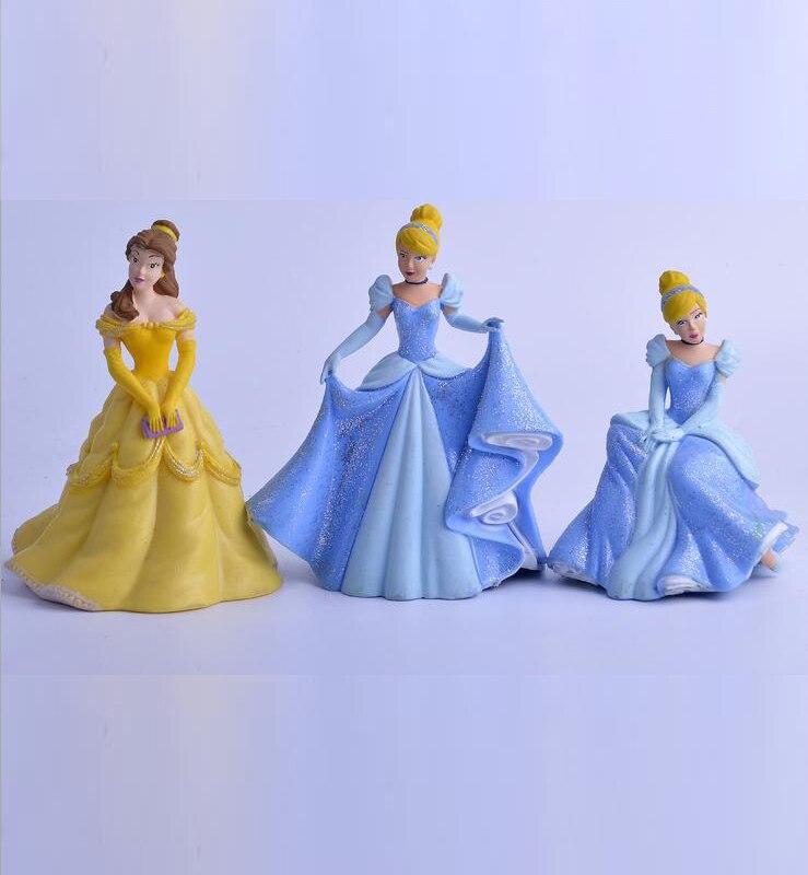 1 pcs Cinderella and Snow White anime figure toys, child Toys