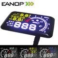EANOP 5.5 LCD Exibição Headup HUD OBD ii Do Carro Styling carro de combustível Kit de Excesso de velocidade KM/H para Toyota Ford BMW Benz Mazada