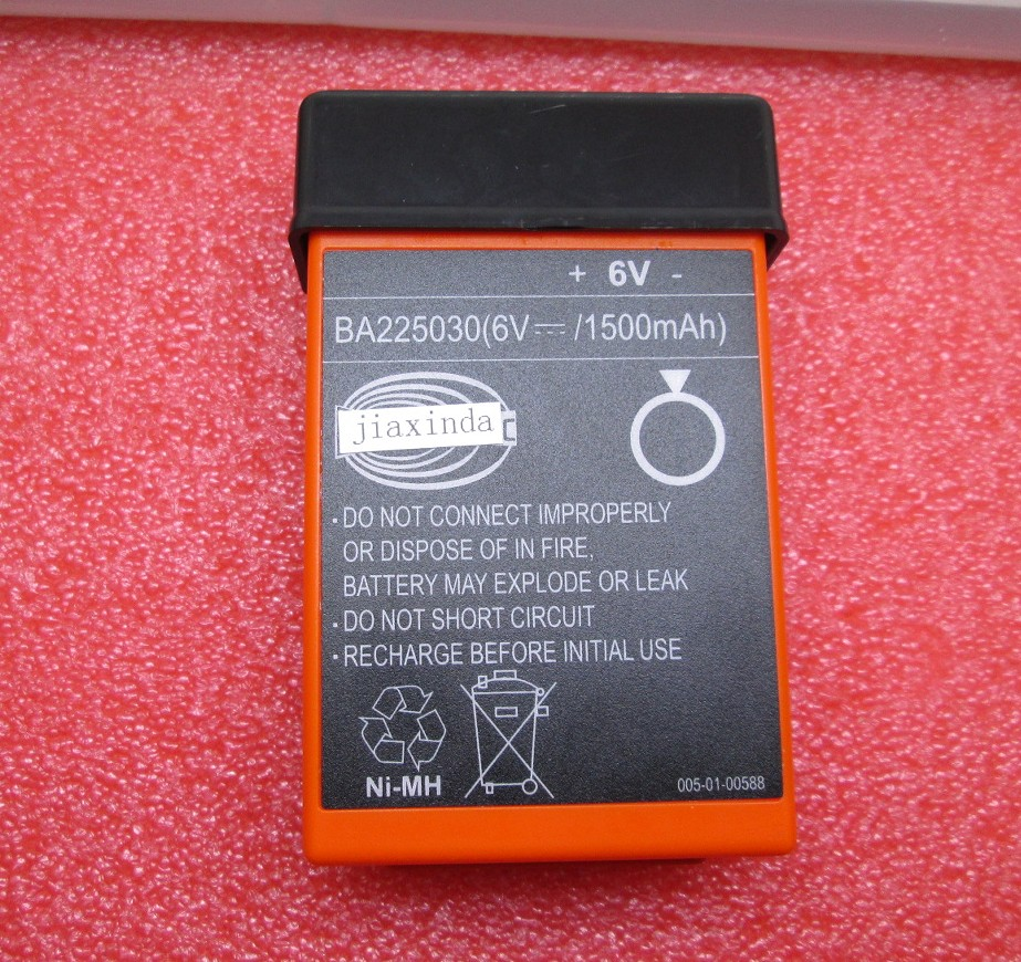 HBC BA225030 Rechargeable battery 225030 6V 1500mah remote control battery HBC batteries NI-MH Nickel metal hydride Pump truck liitokala new original 18650 2500mah batteries inr1865025r 3 6v discharge 20a dedicated battery power diy nickel sheet