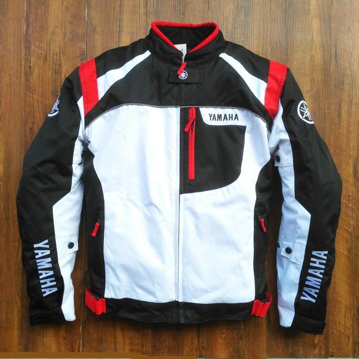 2018 hiver réfléchissant Moto veste hommes Moto vêtements ensemble Moto équipement Protection Motocross pour les Fans Yamaha