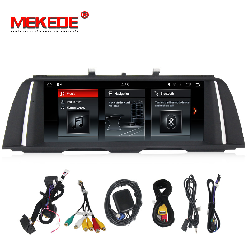 Lettore Multimediale HD Auto 2 din android 7.1 PX3 10.25 pollice Per BMW 5 Serie F10/F11/520 (2011-2016) per CIC/NBT Radio GPS 32 gb