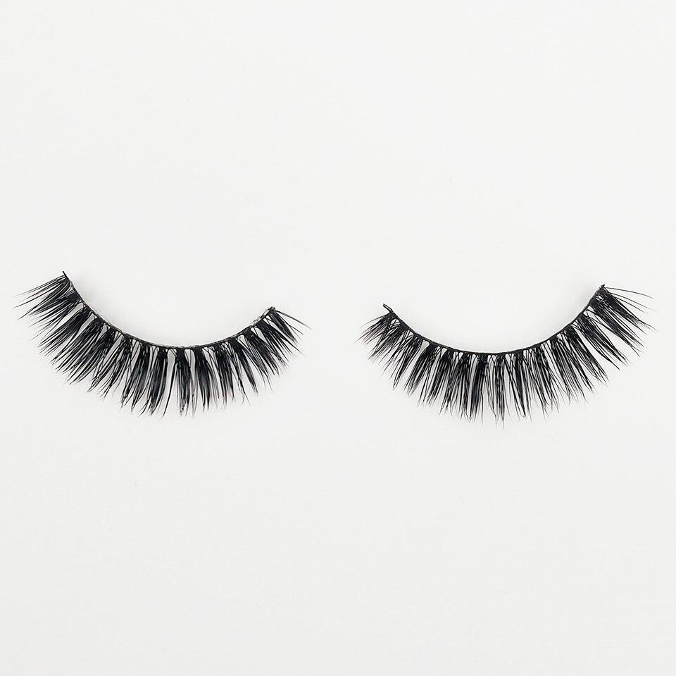 XME015 natural long lashes  (2)