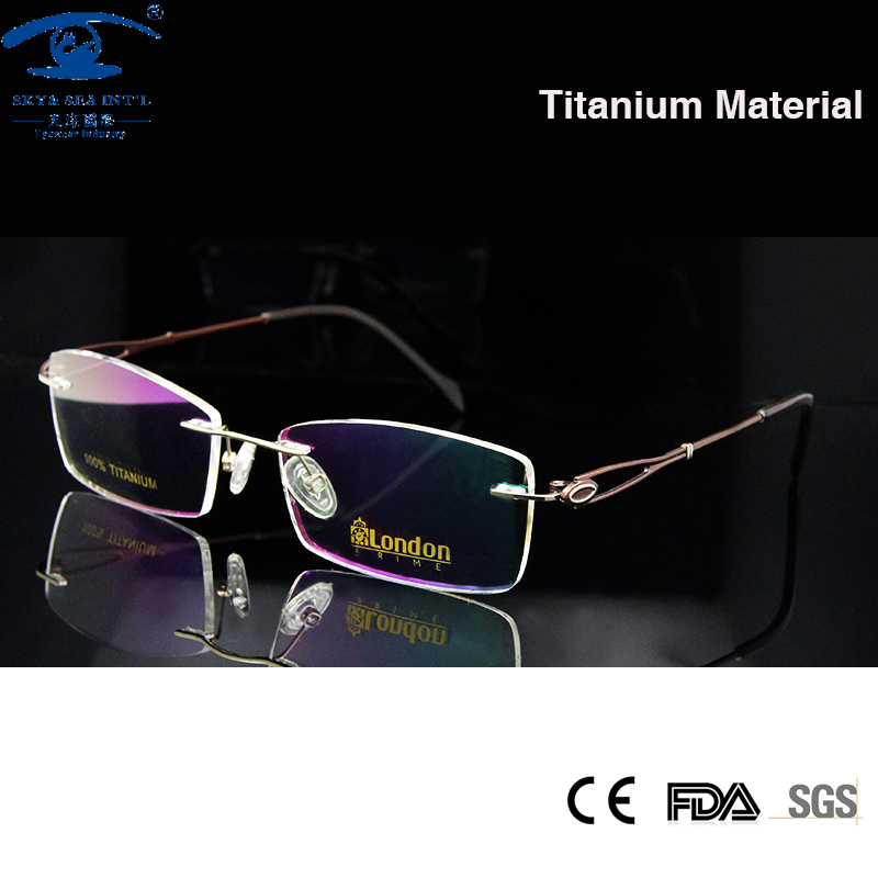 Frameless Prescription Glasses : Online Buy Wholesale frameless eyeglasses women from China ...