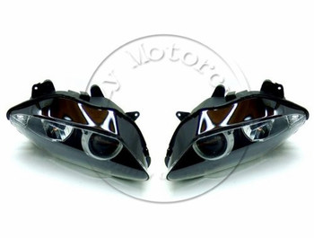 Motorcycle Front Headlight For YAMAHA YZFR1 2007 2008 YZF 1000 R1 Head Light Lamp Assembly Headlamp Lighting Moto Parts
