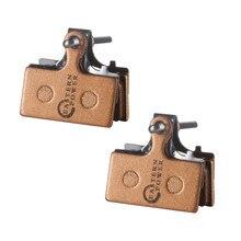 цена на Full-Metal Bike Brake Pads For SHIMANO XTR /DRORE XT /SLX Brake Pads 2 Pairs