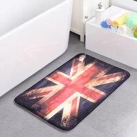 50*80cm Atmospheric flag environmental Non slip Bath Mat Memory Foam Rugs