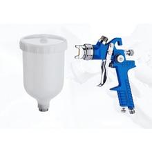 Bico profissional para pintura a ar, pistola spray para pintura a ar, hvlp, H 827/1.4mm/1.7mm, para pintura ferramenta de pulverização