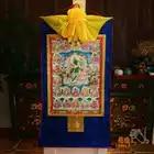 Wholesale Buddhist supplies 120CM large Tibetan Buddhism art 21 Taras Green Tara White Tara Buddha Thang ga Thangka art