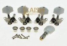 KAISH Set of 5 Nickel Banjo Tuners Tuning Keys Pegs Machine Heads