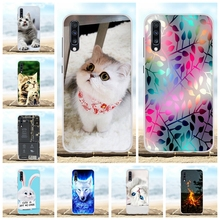 For Samsung Galaxy A70 Case Soft TPU Silicone SM-A705F Cover Cute Patterned Capa