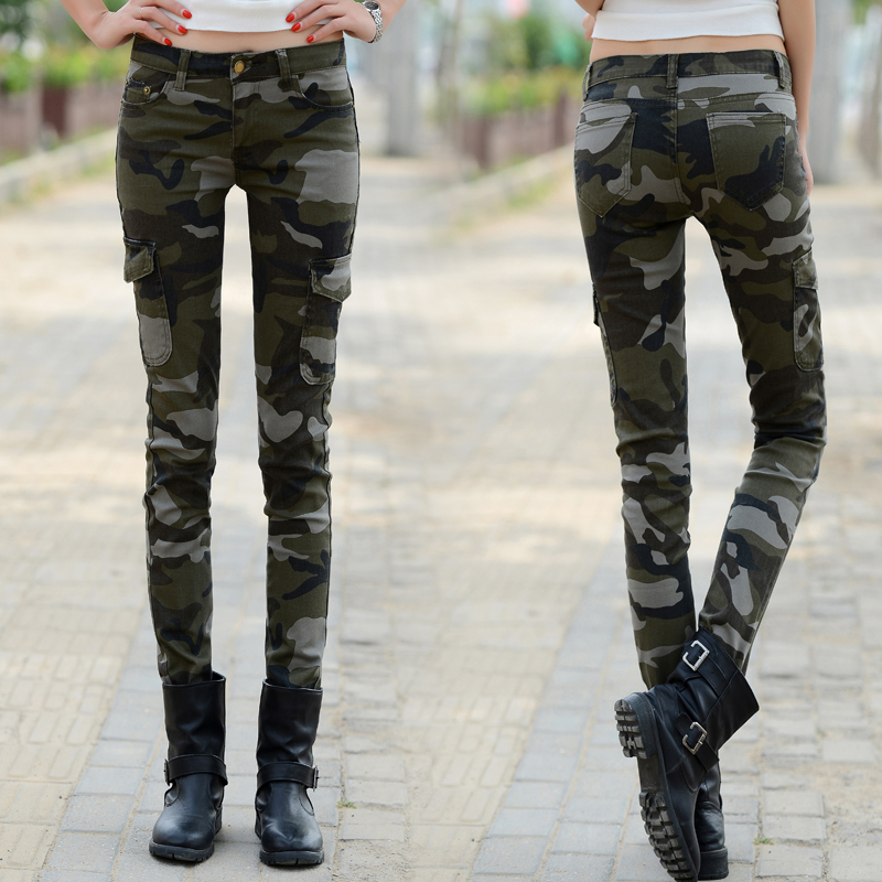 Popular Skinny Cargo Pants Women-Buy Cheap Skinny Cargo Pants ...