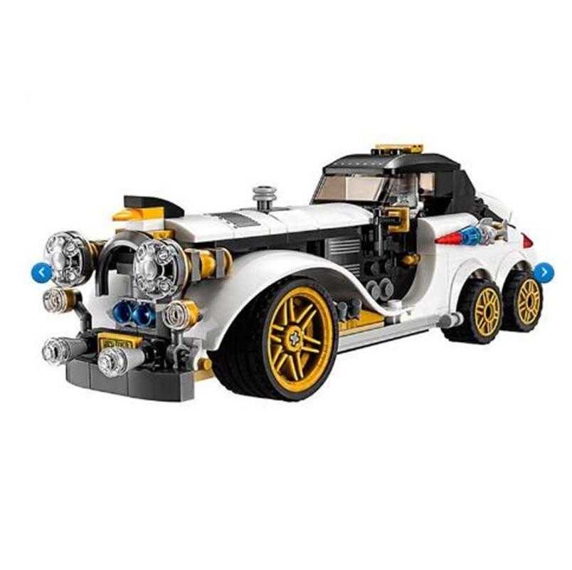 305pcs Legoings Genuine Batman Series The Arctic War Penguin Classic Car Set Building Blocks