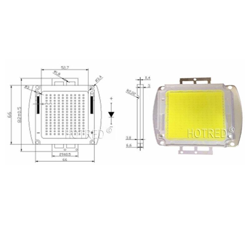 Haute Puissance LED SMD L'ampoule D'ÉPI Puce 150 W 200 W 300 W 500 W Naturel Blanc Chaud Frais 150 200 300 500 W Watts pour la Lumière Extérieure - 5