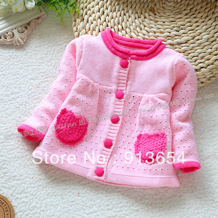 Free Shipping Retail New 2013 Spring Autumn Kids Clothes Sweater