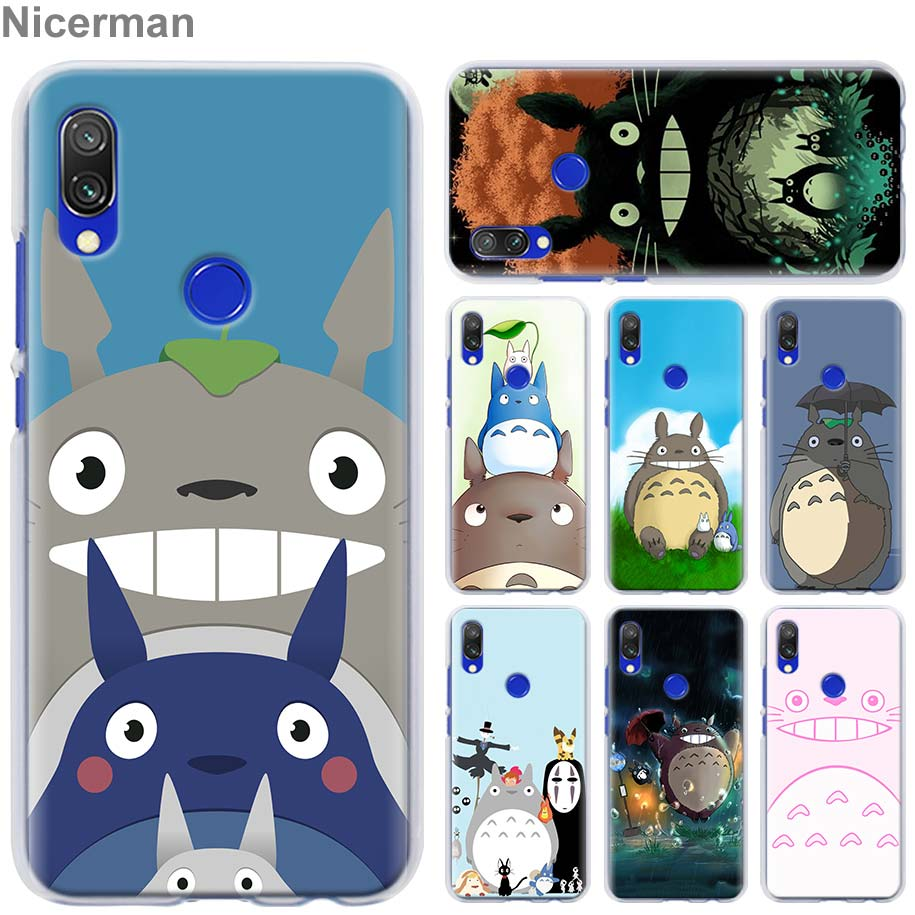 my neighbor <font><b>pug</b></font> totoro Case <font><b>Cover</b></font> for <font><b>Xiaomi</b></font> Redmi Note 5 6 7 Pro 4X 7 6 6A 5 Plus 5A S2 GO Pocophone F1 Phone case Coque image
