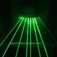 Новейшие крутые зеленые лазерные светящиеся очки для защиты от лазера с 10 шт зеленые лазеры для вечерние ночной клуб KTV бар DJ сценическое шо