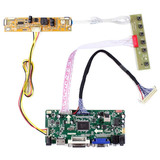 HDMI DVI VGA لوحة التحكم بحجم الصوت (لوحة للقيادة) صالح ل 23.6 بوصة 1920x1080: V236H1 LE2 V236H1 LE4 M236H3 LA2 M236H3 LA3
