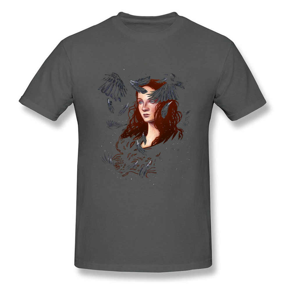 夏新 Tシャツダーク羽ダーク言葉 Tシャツ男性女性綿の服詩肖像画 Tシャツ古典的なトップ Tシャツ