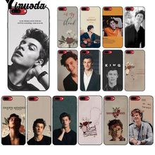 Yinuoda Canada Pop singer Shawn Mendes Soft Silicone TPU Phone Cover for Apple iPhone 8 7 6 6S Plus X XS MAX 5 5S SE XR