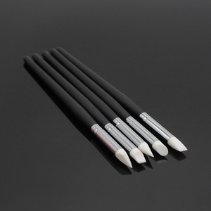 Image 4 - Dentistry Clinic 5 Pcs/Set Tooth Shaping Silicone Pen Adhesive Composite Resin Cement Porcelain