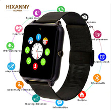 New Fashion Smart Watch Metal Strap Bluetooth Men Wrist Smartwatch Support Sim TF Card Android&IOS Multi-languages PK S8