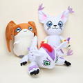 27-35cm Japanese Cartoon Digimon Adventure Plush Toy Tailmon Patamon Gomamon Plush Doll Stuffed Soft Toys 3*styles