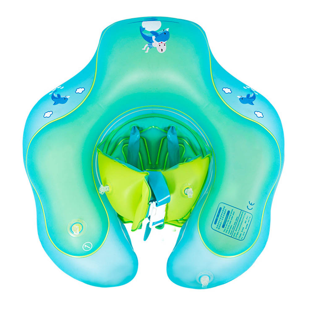 Baby Swimming Ring Infant Inflatable Floating U-armpit Kids Swim Pool Accessories Circle Rings Toy Bath Double Inflatable Raft