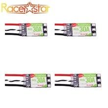 Racerstar 4 pièces RS30A Lite 30A Blheli_S BB1 2 4s, ESC sans balais pour modèles RC FPV Racer, bonnes pièces, nouveauté