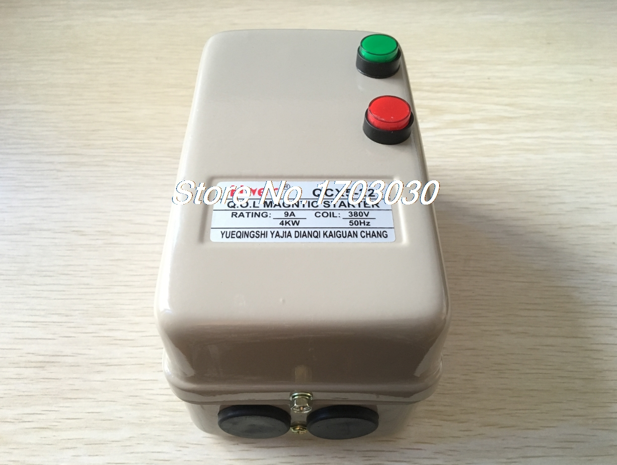 6.8-11A 380V Coil AC Contactor 5.5 Three Phase Motor Magnetic Starter 3 Pole цена 2017