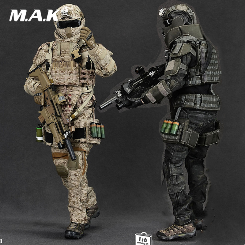 clothing set collections 1/6 Scale military Solider Figure Heavy Breacher figure Clothes Set & Weapon Accessory set no Body