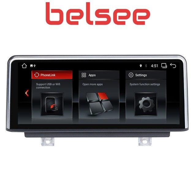 """Belsee 10,25 """"Экран Android 8,1 Сенсорный экран gps навигации радио для BMW 1 серии F20/F21 (2011-2016) 2 серии F23 2013-2016"""