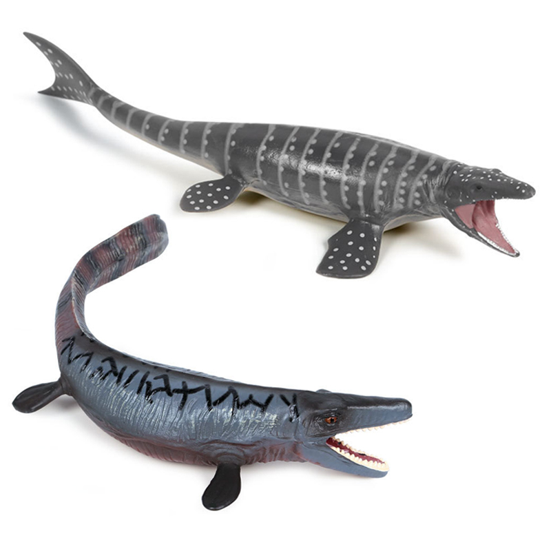 Jurassic World Park Tylosaurus Mosasaurus Dinosaur Plastic Boys Toy Model Colorful Collection <font><b>Figure</b></font> For Children Gift Kid image