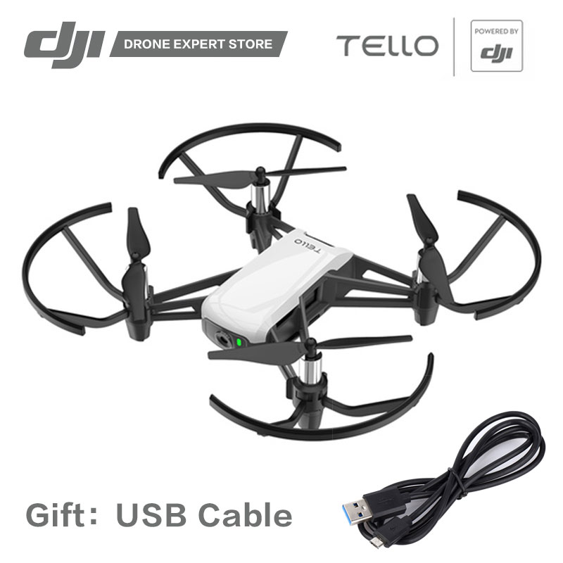 DJI RYZE Tello Drone with 720P Video Camera Wifi App Remote Control Quadcopter FPV 13min Fly Time Toy Helicopter ryze tello drone with dji flight tech camera photography video quadcopter toy drone birthday gift children education