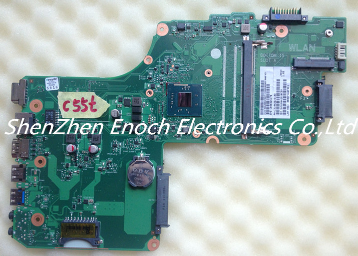 V000325170 for Toshiba Satellite C55 C55T Laptop Motherboard SR1SG 1310A2623103 DB10BM-6050A2623101-MB-A02 stock No.383