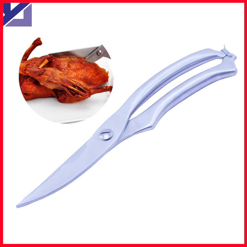 Stainless Steel Strong chicken scissors kitchen shears Multifunction for Chicken Meat Remove fish scale