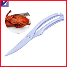 Stainless Steel Strong chicken scissors kitchen shears Multifunction for Chicken & Meat & Remove fish scale