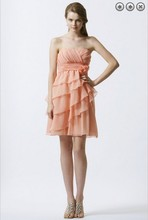 free shipping 2013 pageant dinner dress vestidos formal bride plus size short celebrity party Bridesmaid Dresses