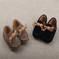 New Arrived Spring Autumn Children Shoes Toddler Baby Genuine Suede Leather Fashion Kids Tassel Shoes High