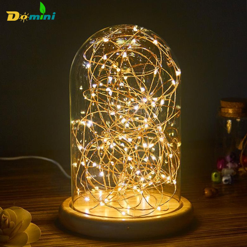 LED Novelty Copper Fairy Lights 5V USB LED Night Light For Toy Desk Flower Home party Decoration nightlight стоимость